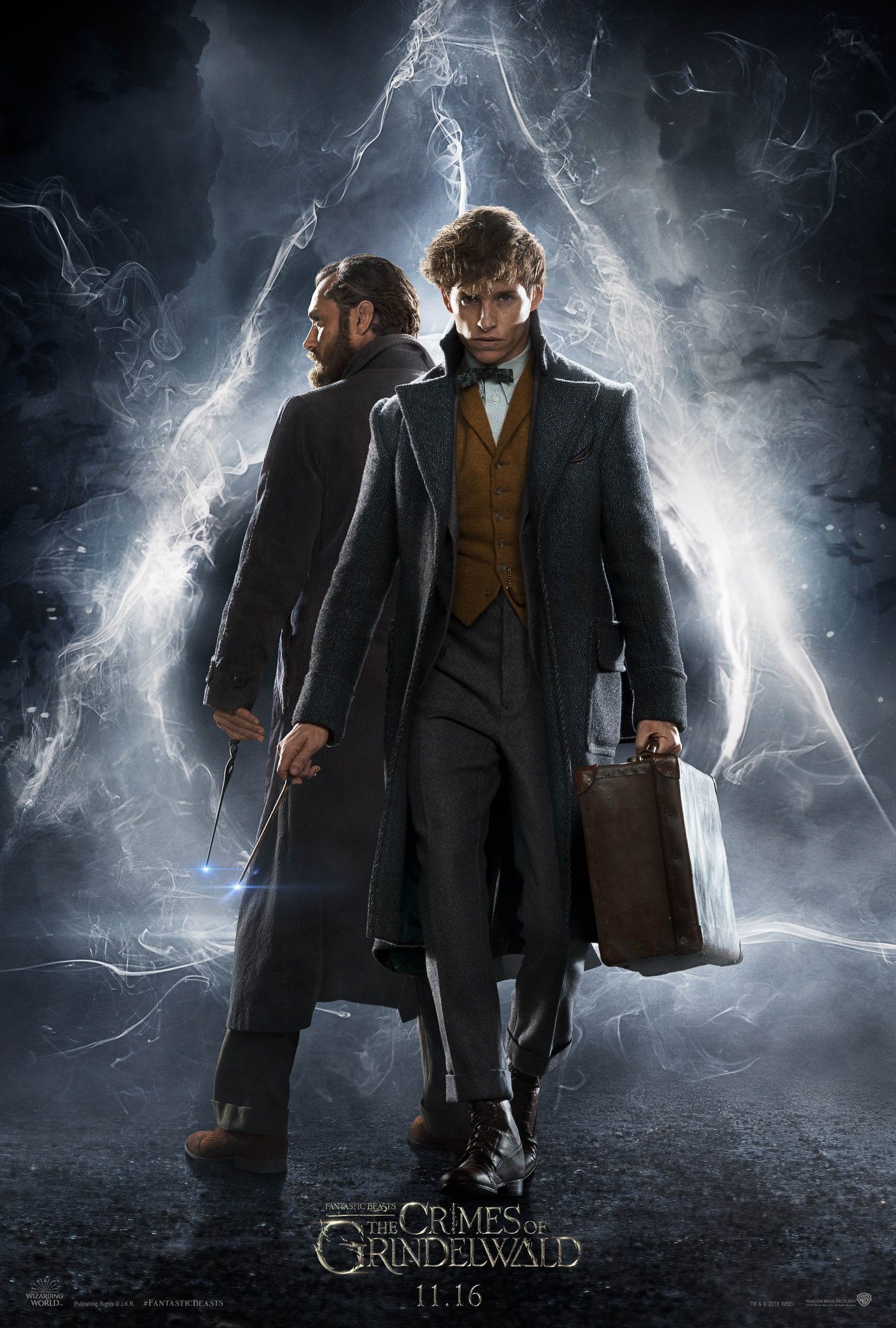 Fantastic Beasts The Crimes of Grindelwald Poster Maart 2018