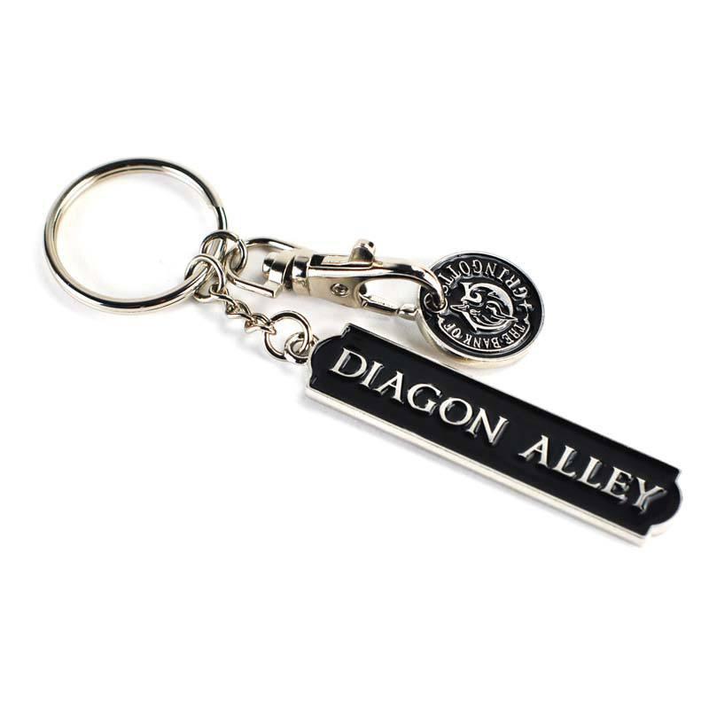 Afbeelding van Diagon Alley Gringotts sleutelhanger