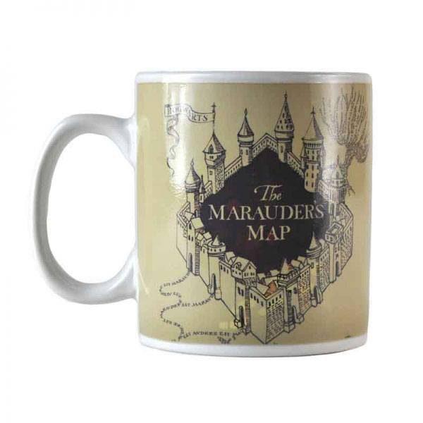 Harry Potter van kleur veranderende mok Marauder's Map