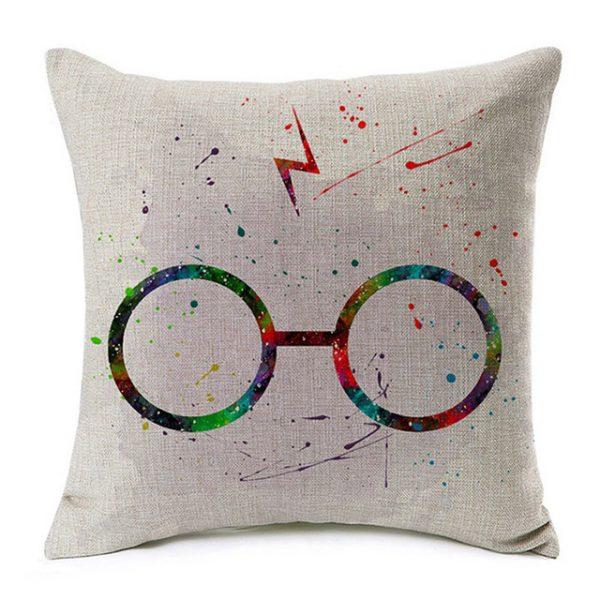 Harry Potter kussensloop Bril Bliksem