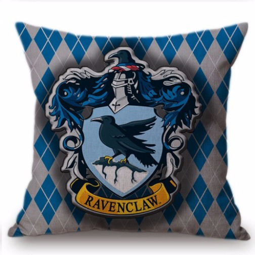 Harry Potter kussensloop Ravenclaw