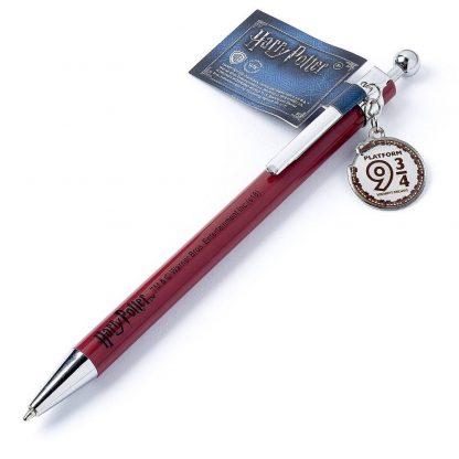 Harry Potter Pen met Platform 9 3/4 bedel