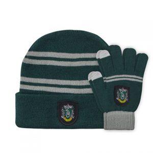 Harry Potter Slytherin kinder muts en handschoenen