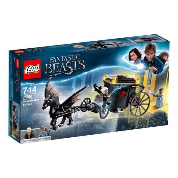 LEGO Fantastic Beasts 2 Grindelwald's Escape 75951