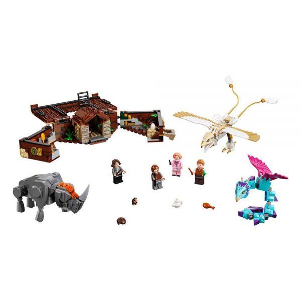 LEGO Fantastic Beasts 2 Newt's Case of Magical Creatures 75952