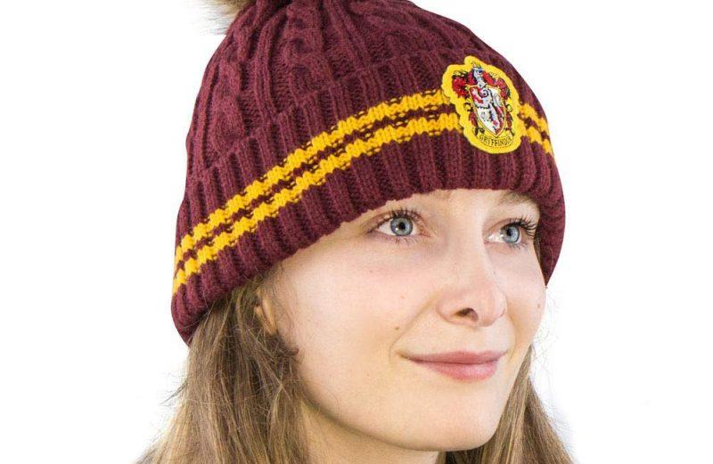 Harry Potter Pom-Pom Beanie muts Gryffindor