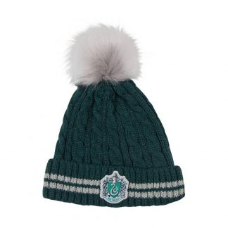 Harry Potter Pom-Pom Beanie muts Slytherin