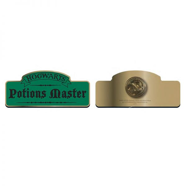 Harry Potter Potions Master pin badge
