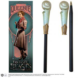 Queenie Goldstein toverstok pen en boekenlegger