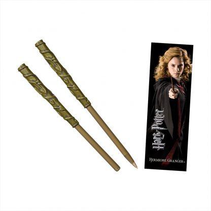 Hermione toverstok pen en boekenlegger