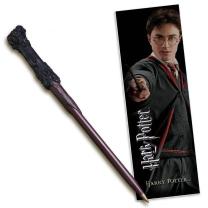 Harry Potter toverstok pen en boekenlegger