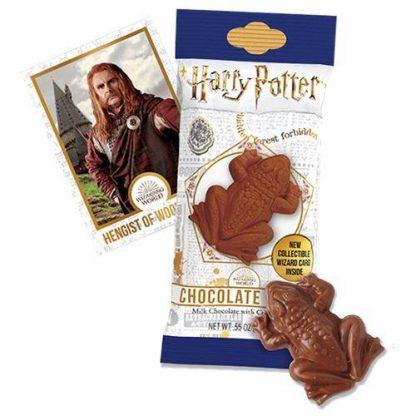 Harry Potter Chocolade kikker met verzamel kaart
