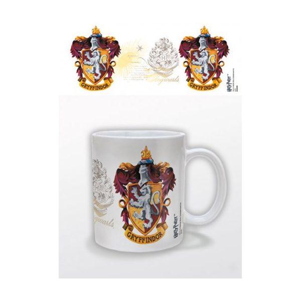 Harry Potter Mok Gryffindor logo