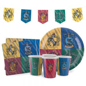 Harry Potter versierset Hogwarts