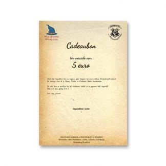 Cadeaubon 5 euro (digitaal, pdf)