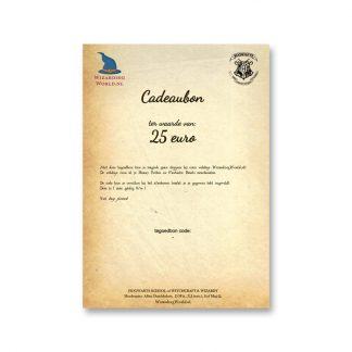 Cadeaubon 25 euro (digitaal, pdf)