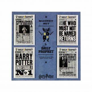Harry Potter Daily Prophet Magneet set