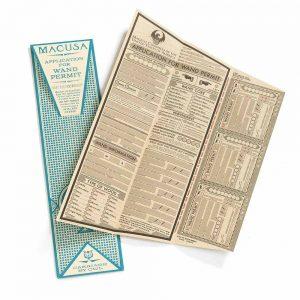 Harry Potter Wand Permit kit Replica