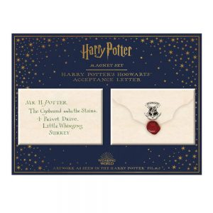 Harry Potter Hogwarts envelop magneet