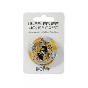 Harry Potter Hufflepuff button badge