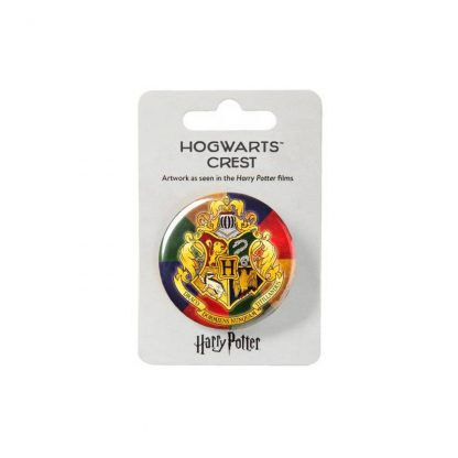 Harry Potter Hogwarts button badge