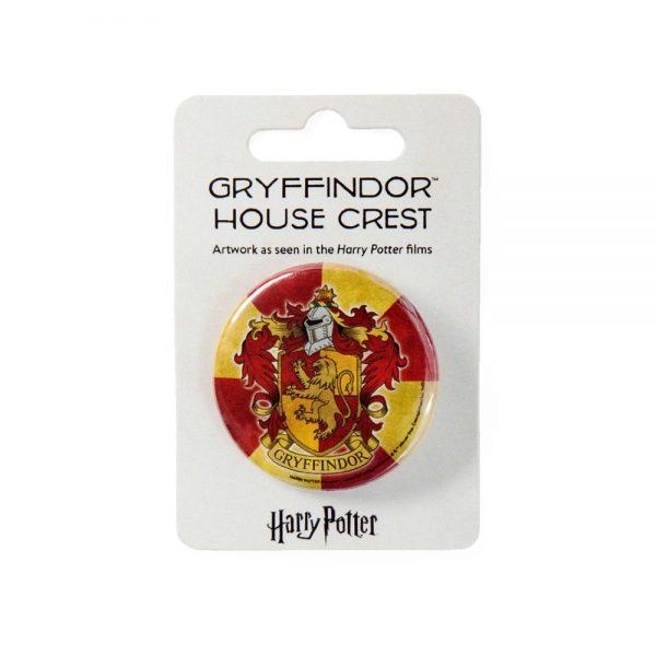 Harry Potter Gryffindor button badge