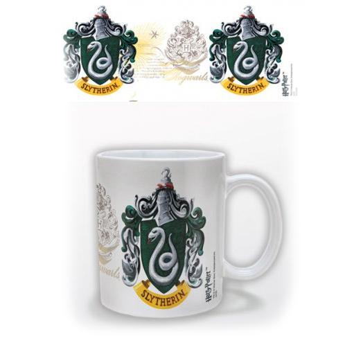 Harry Potter mok Slytherin logo