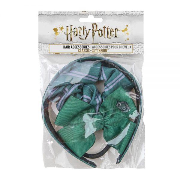 Harry Potter Haar Accessoires Set Slytherin