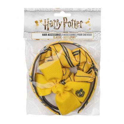 Harry Potter Haar Accessoires Set Hufflepuff