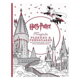 Harry Potter Kleurboek Magische Plekken en Personages