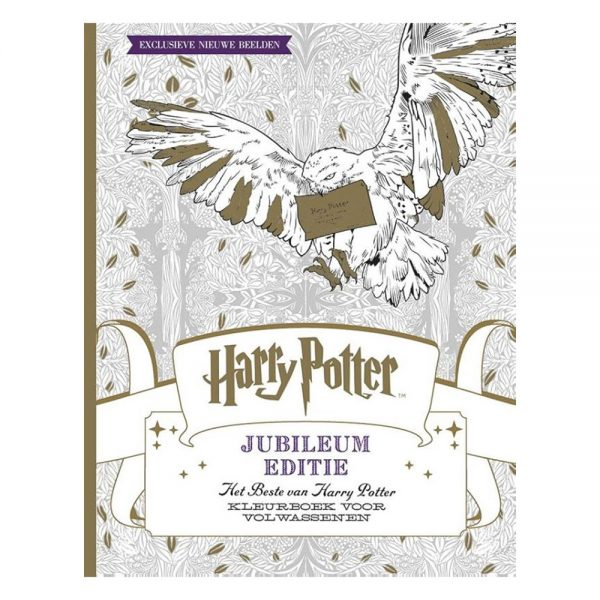 Harry Potter Kleurboek Jubileum Editie - Het beste van Harry Potter