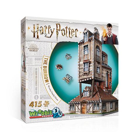 Harry Potter The Burrow 3D Puzzel