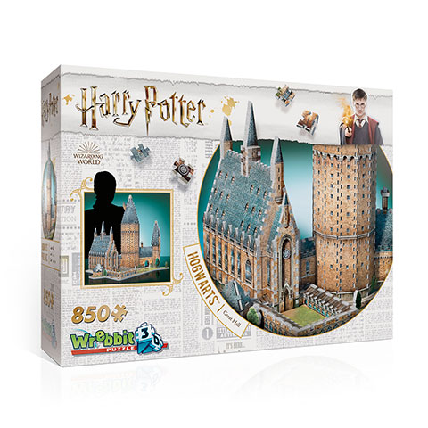 Harry Potter Great Hall 3D Puzzel