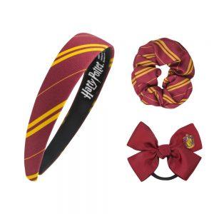 Harry Potter Haar Accessoires Set Gryffindor