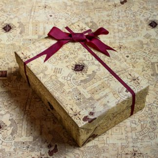 Harry Potter Cadeaupapier Marauder's Map