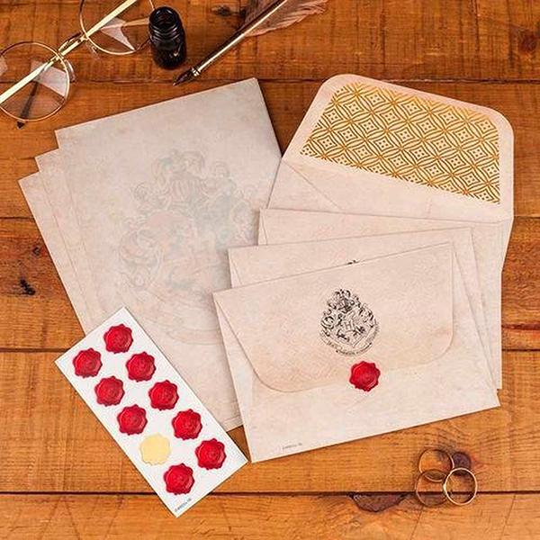 Harry Potter Hogwarts Briefpapier set