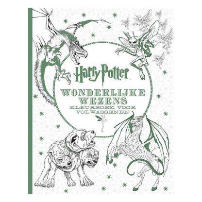 Harry Potter Kleurboek Wonderlijke Wezens