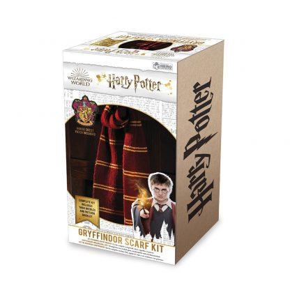 Harry Potter Gryffindor Sjaal Brei set