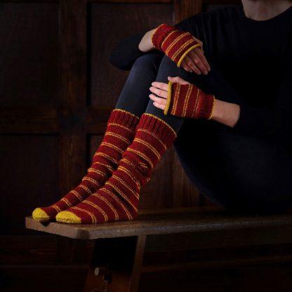 Harry Potter Gryffindor Sokken en Handschoenen Brei set