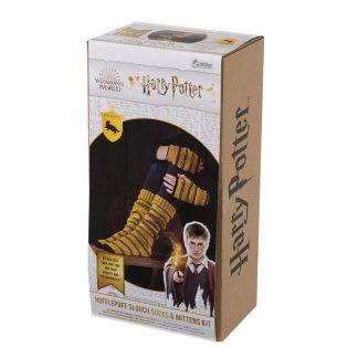 Harry Potter Hufflepuff Sokken en Handschoenen Brei set