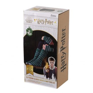 Harry Potter Slytherin Sokken en Handschoenen Brei set
