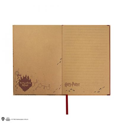 Harry Potter Marauders's Map Notitieboek met Kaart