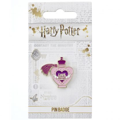 Harry Potter Love Potion pin badge
