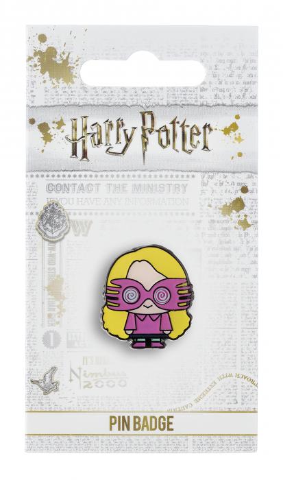 Luna Lovegood pin badge