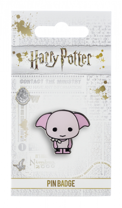 Dobby pin badge