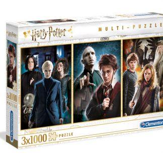 Harry Potter 3 x 1000 stukjes Puzzel