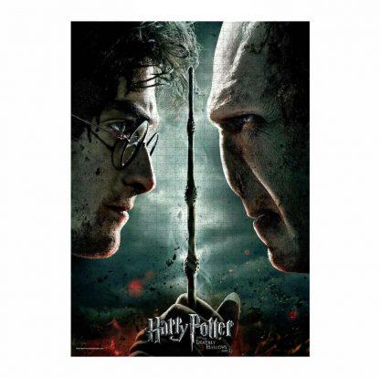 Harry Potter Harry vs Voldemort Puzzel (1000 stukjes)