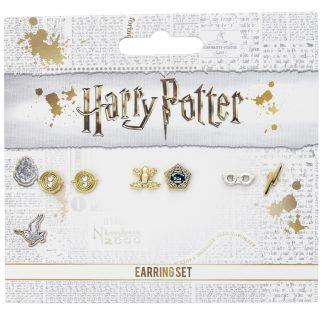Harry Potter Oorbellen set knopjes