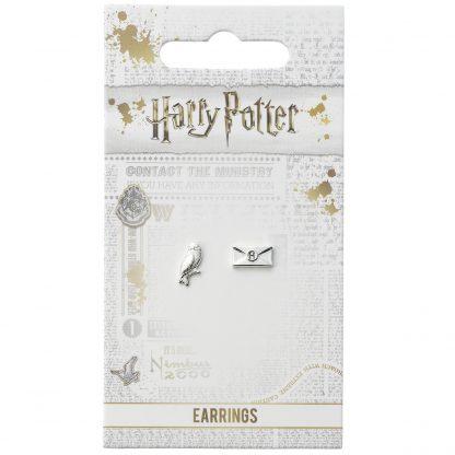 Harry Potter Hedwig en brief Oorbellen knopjes