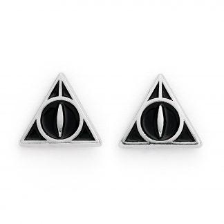 Harry Potter Deathly Hallows Oorbellen knopjes